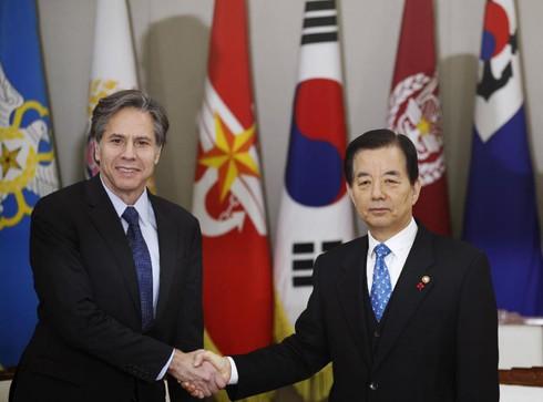 Mỹ ép Trung Quốc trừng phạt Triều Tiên - ảnh 1