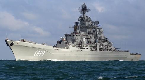 11 tàu chiến Nga được phép xuất hiện cùng một lúc ở cảng Tartus của Syria - ảnh 1