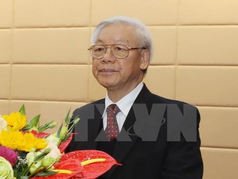 Tổng Bí thư Nguyễn Phú Trọng: Đất nước chuyển mình đón vận hội mới - ảnh 1