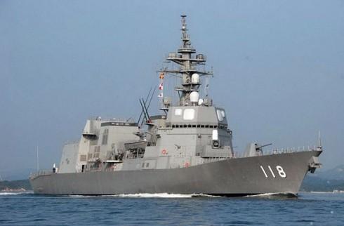 Tàu khu trục Nhật Bản thăm Việt Nam - ảnh 1