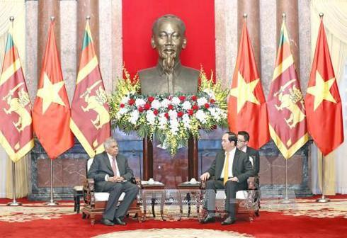 Chủ tịch nước tiếp Thủ tướng Sri Lanka - ảnh 1