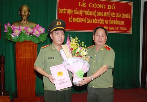 Trung tá 33 tuổi làm Phó Giám đốc Công an Đồng Nai - ảnh 1