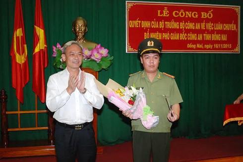 Trung tá 33 tuổi làm Phó Giám đốc Công an Đồng Nai - ảnh 2