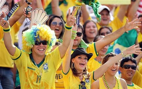 World Cup 2014: Khán giả trên sân toàn là người da trắng và giàu có? - ảnh 1