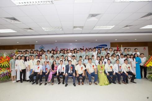 Samsung Việt Nam khai giảng khóa học cao đẳng cho nhân viên - ảnh 1