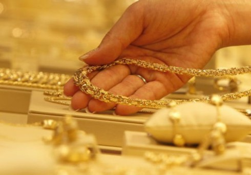 Giá vàng hôm nay 20/4 bật tăng 150.000 đồng/lượng, USD giảm - ảnh 1