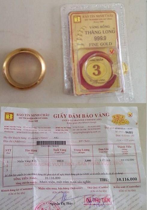 Bị tố bán vàng giả, Bảo Tín Minh Châu tung bằng chứng phản bác - ảnh 1