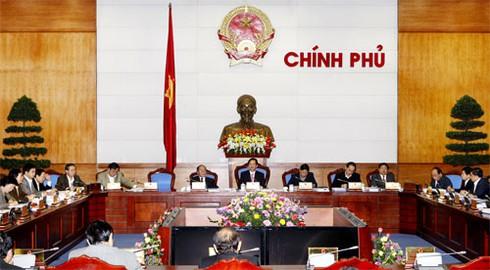 Chính phủ ra Nghị quyết thúc đẩy sản xuất kinh doanh - ảnh 1