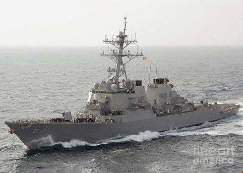 Tàu chiến Mỹ liên tục giám sát Trung Quốc trước phán quyết về Biển Đông - ảnh 1