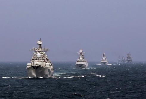 Trung Quốc và Nga sắp tập trận chung ở Biển Đông? - ảnh 1
