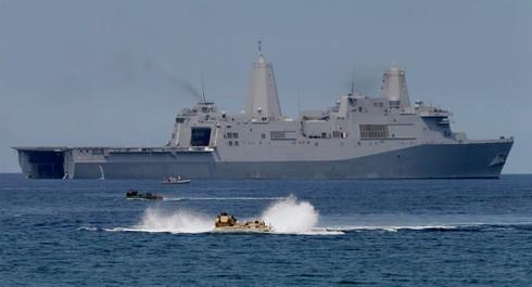 """Mỹ sẽ tiến hành nhiều cuộc tập trận """"đe"""" Trung Quốc ở Biển Đông - ảnh 1"""