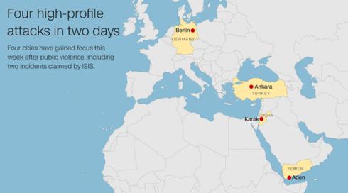 Hai ngày, bốn vụ khủng bố, hàng chục người thiệt mạng - ảnh 1