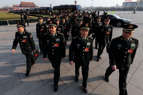 Chi tiêu quốc phòng Trung Quốc còn lâu mới sánh được với Mỹ - ảnh 2