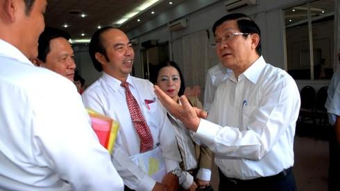 Chủ tịch nước giải thích lý do luân chuyển ông Nguyễn Thiện Nhân - ảnh 1