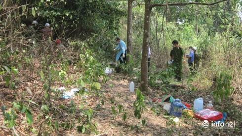 Đắk Lắk: Phát hiện thi thể người đàn ông chết trong rừng sâu - ảnh 1