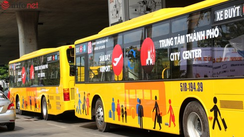 TP.HCM: Đã có xe buýt từ sân bay về trung tâm, hoạt động từ 5g30' đến 1g30' sáng - ảnh 1
