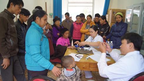 Gần 1500 đồng bào dân tộc được khám sức khoẻ miễn phí - ảnh 1