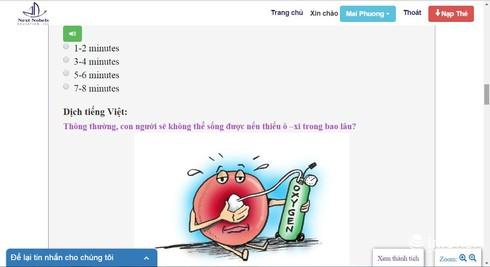 Giảm nhẹ gánh nặng học tập nhờ phần mềm song ngữ Anh – Việt - ảnh 1