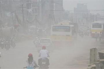 Ô nhiễm không khí ngưỡng xấu khắp miền Bắc, khuyến cáo hạn chế ra đường