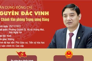 Chân dung ông Nguyễn Đắc Vinh - Phó Chánh Văn phòng Trung ương Đảng