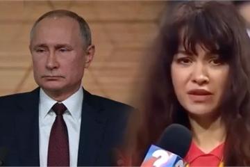 """Hỏi ông Putin câu hỏi """"chưa được duyệt"""", nữ phóng viên bị nghỉ việc bí ẩn?"""