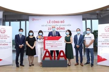 AIA Việt Nam đồng hành cùng đội ngũ y bác sĩ tuyến đầu chống dịch