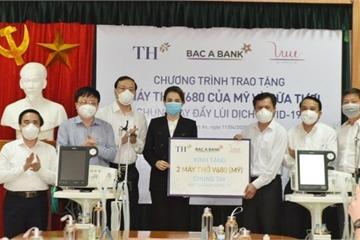 Tập đoàn TH và ngân hàng Bắc Á tặng hơn 15 tỷ đồng chung tay chống dịch Covid-19