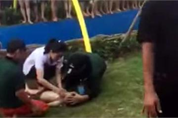 Hà Nội: Bé trai bị đuối nước ở công viên vừa khai trương