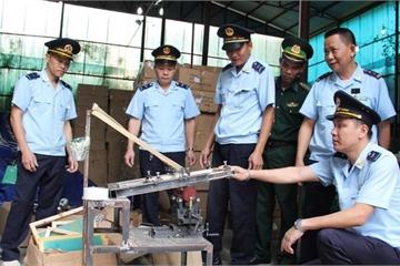 Đột kích kho hàng chứa 280 kiện hàng có dấu hiệu giả mạo xuất xứ Thái Lan