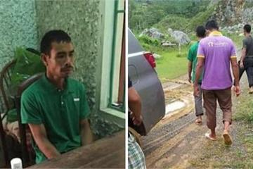 Hòa Bình: Kẻ giết vợ rồi trốn lên núi đã ra đầu thú