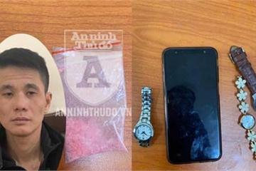 Con nghiện đi trộm gặp công an, bị bắt sau ít phút truy đuổi
