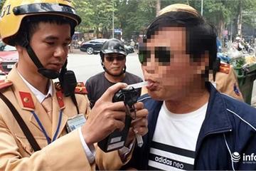 Trong 2 ngày, 615 lái xe bị xử phạt vi phạm nồng độ cồn