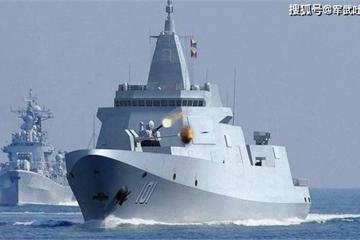 """Hải quân Trung Quốc đưa vào biên chế tàu khu trục """"khủng"""" nhất thế giới"""