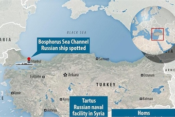 Thổ Nhĩ Kỳ chơi lớn khi chặn máy bay Nga, dọa đóng cửa eo biển để chiếm Idlib