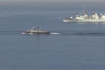 Tuần dương hạm của Nga bị tàu tên lửa Ukraine 'truy sát' ở Biển Đen?