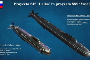 """Tàu ngầm lớp Laika có thực sự làm """"siêu sát thủ"""" lớp Virginia của Mỹ """"lạnh gáy""""?"""