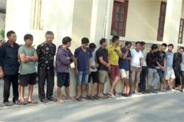 Khởi tố, bắt tạm giam hàng chục đối tượng trộm hàng trăm tấn chó ở Thanh Hóa