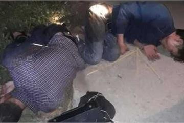 Ninh Bình: 2 đối tượng trộm chó bị người dân vây đánh, đốt xe lúc rạng sáng