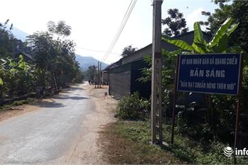 Thanh Hóa: Bản NTM đầu tiên của huyện biên giới Mường Lát