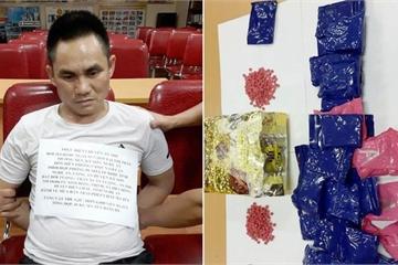 Nghệ An: Bắt đối tượng vận chuyển 1kg ma túy đá và 6.000 viên ma túy tổng hợp