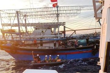 Tìm thấy 2 thi thể gần khu vực tàu cá Nghệ An bị chìm gần đảo Bạch Long Vỹ