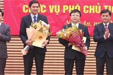 Công bố quyết định phê chuẩn 2 Phó Chủ tịch UBND tỉnh Nghệ An