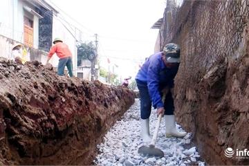"""Nghệ An: Vùng """"đất khó"""" bãi ngang nỗ lực xây dựng nông thôn mới"""