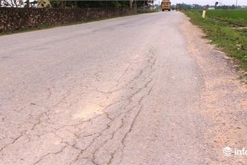 Nghệ An: Chưa bàn giao, đường gần 50 tỷ đã hư hỏng nhiều chỗ