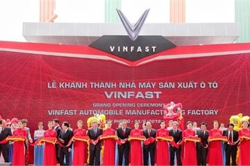VinFast đã xác lập kỳ tích mới trong ngành công nghiệp ô tô thế giới