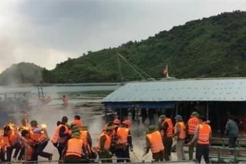 Công an tỉnh Quảng Ninh thông tin về vụ ném bom xăng ở Vân Đồn