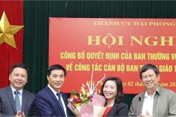 Chánh Văn phòng UBND TP Hải Phòng giữ chức Phó Trưởng ban Tuyên giáo Thành ủy