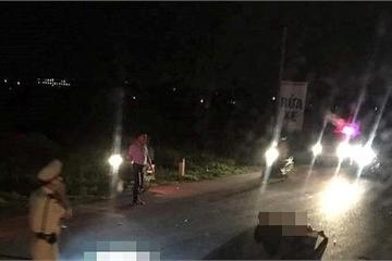 Hải Phòng: Tạm giữ đối tượng lao xe vào công an tại chốt kiểm soát dịch trong đêm