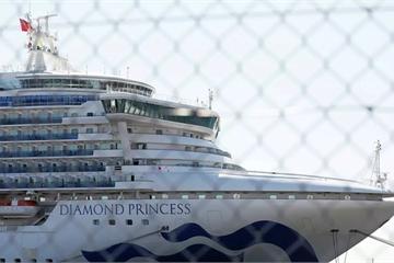 Nhật Bản thông báo hành khách có thể rời tàu Diamond Princess từ ngày 19/2