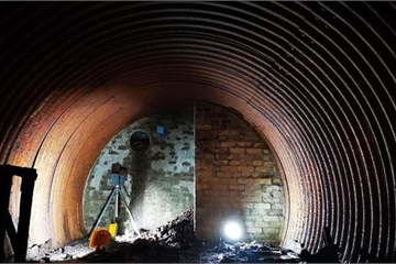 Phát hiện hầm ngầm bí mật thời Thế chiến II ở Scotland